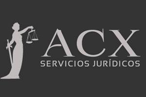 """Logo """"Servicios Jurídicos ACX"""" LegalZone"""